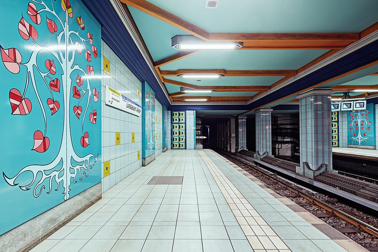Enjoy the artistic offerings of the underground while you wait for your delayed train | © Alexander Rentsch/Flickr