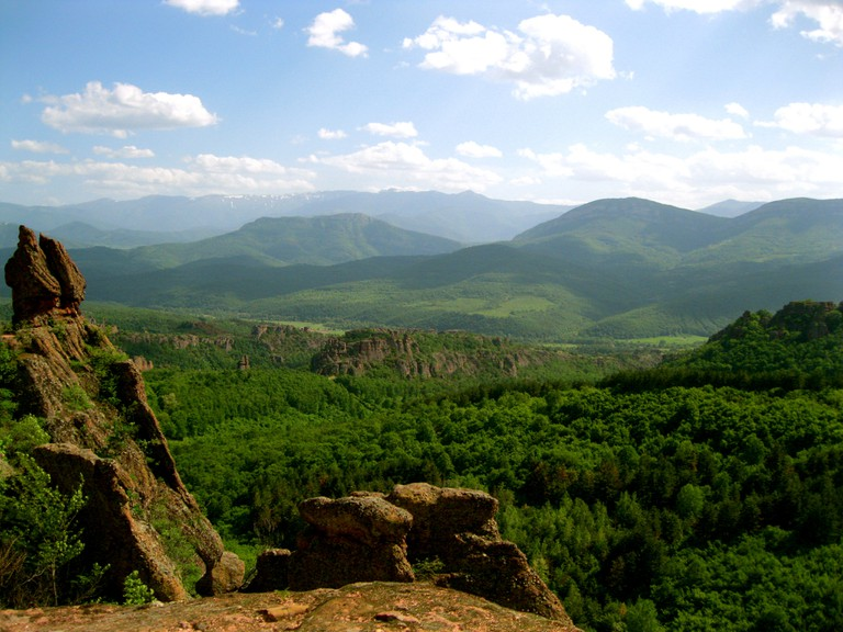 View from the top of the Belogradchik Fortress| © Athena Lao/Flickr