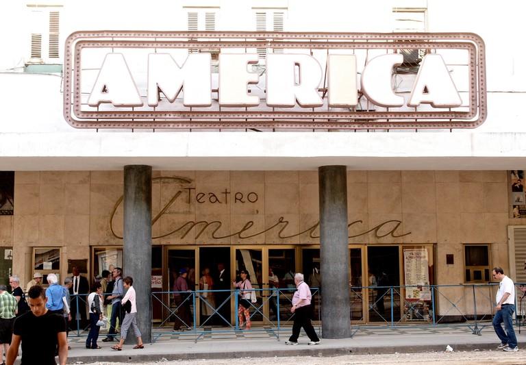 America Theater, Havana | © Sandra Cohen-Rose and Colin Rose / Flickr