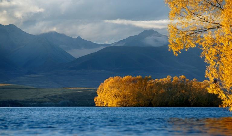 Autumn at Lake Tekapo