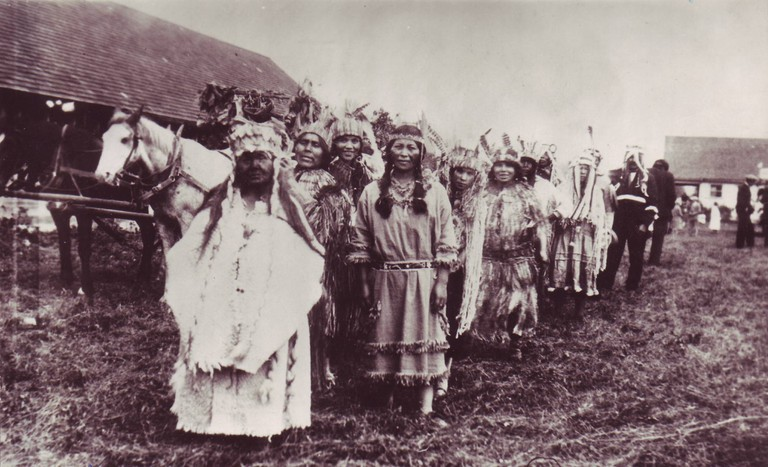 Chehalis First Nations in early 20th century | © Wikimedia Commons