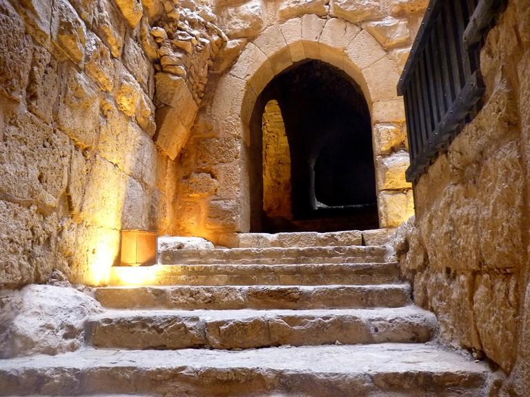 Inside Ajlun Castle © Maya-Anaïs Yataghène
