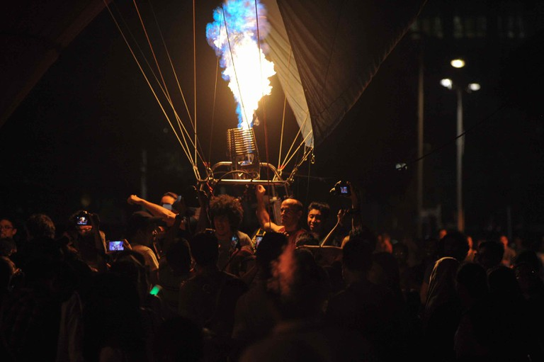 The main highlight of the event –the Night Glow Show | Courtesy of AKA Balloon