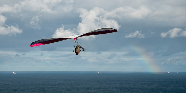 A hang glider | © Roanish/ Flickr