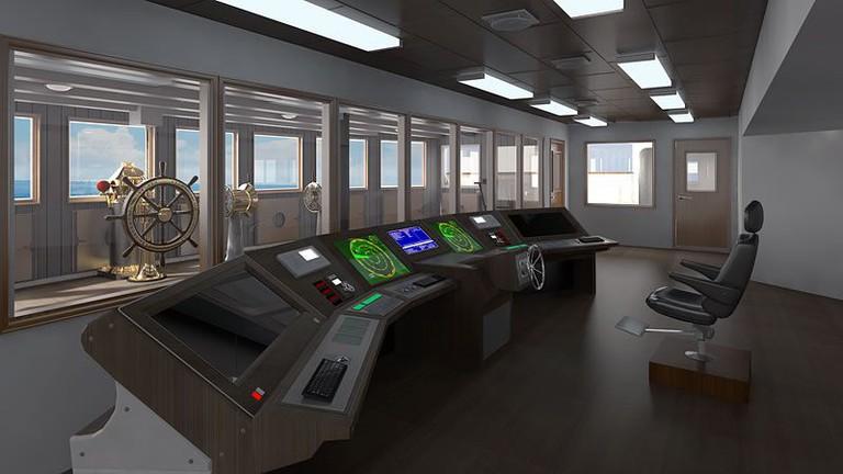 A modern control deck | © Blue Star Line