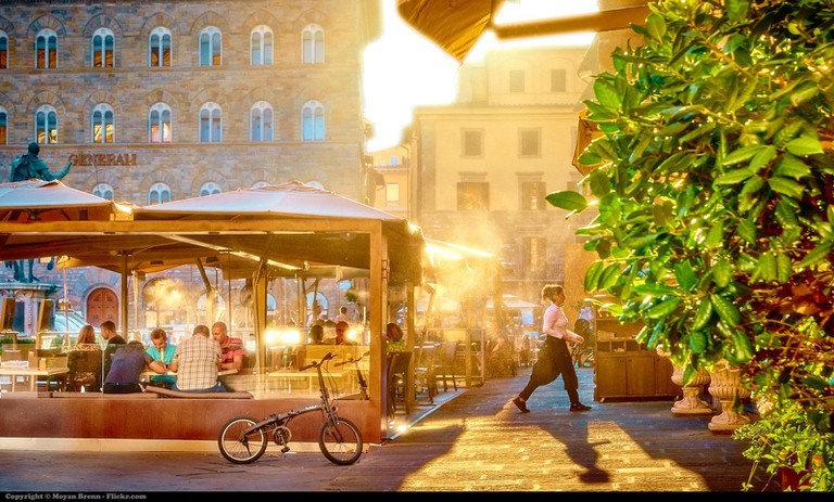 Al Fresco Dining in Florence
