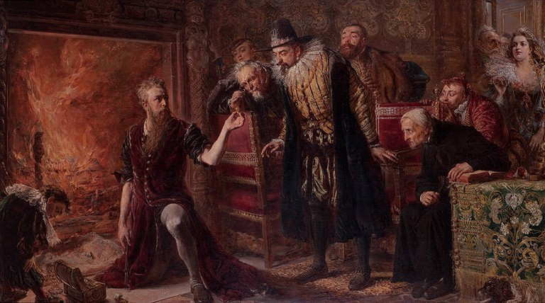 Alchemists were once a common presence in royal courts | ©Jan Matejko