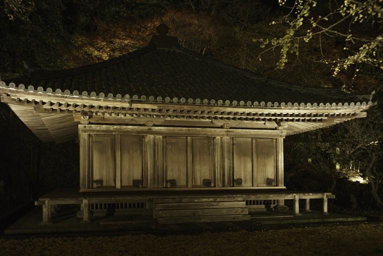 The Amida-do Main Hall at Fukiji Temple