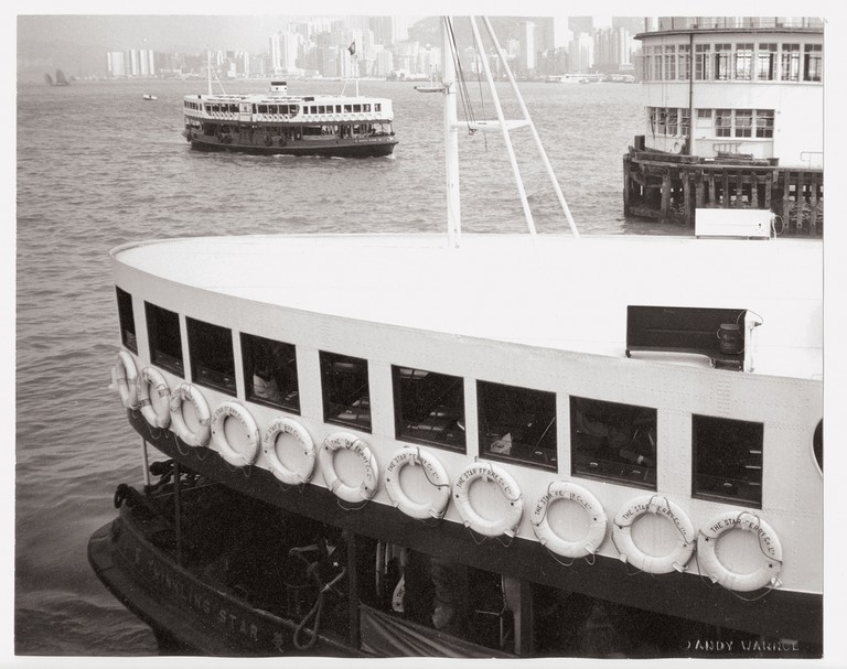 Andy Warhol, Hong Kong Harbour (Boats), 1982 | Courtesy Phillips