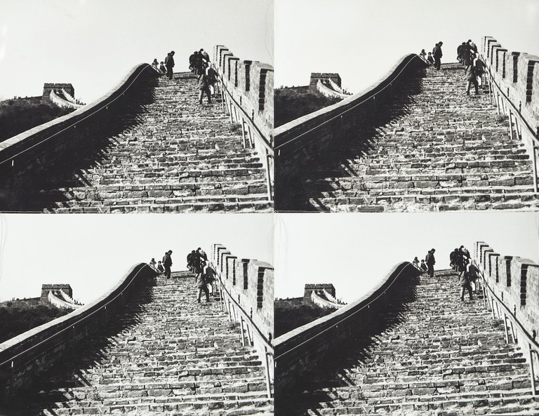 Andy Warhol, The Great Wall of China, 1982-1987 | Courtesy Andy Warhol Foundation and Phillips