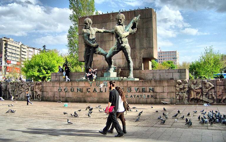Güven Monument | © Haluk Comertel/Wikimedia Commons