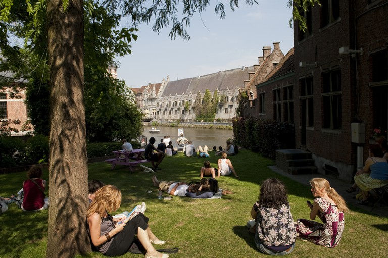 Appelburgparkje | courtesy of Visit Ghent