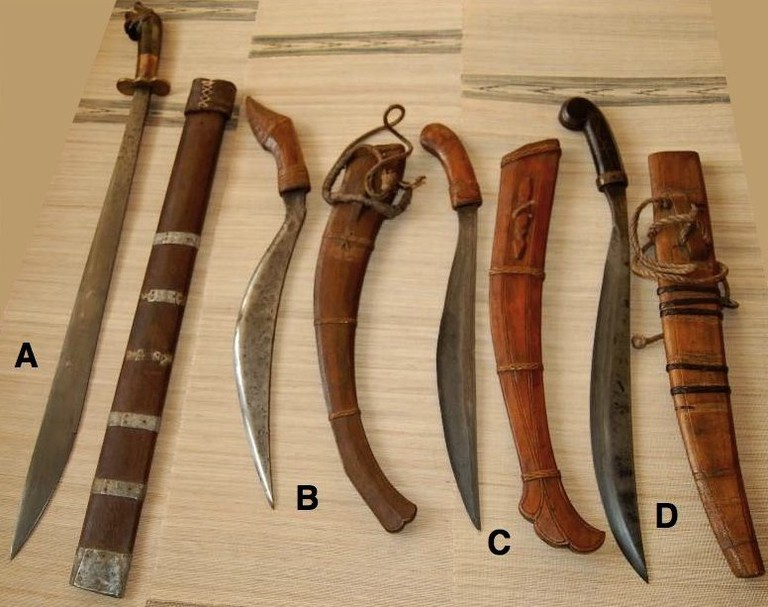 Some of arnis' many weapons   © Lorenz Lasco/WikiCommons
