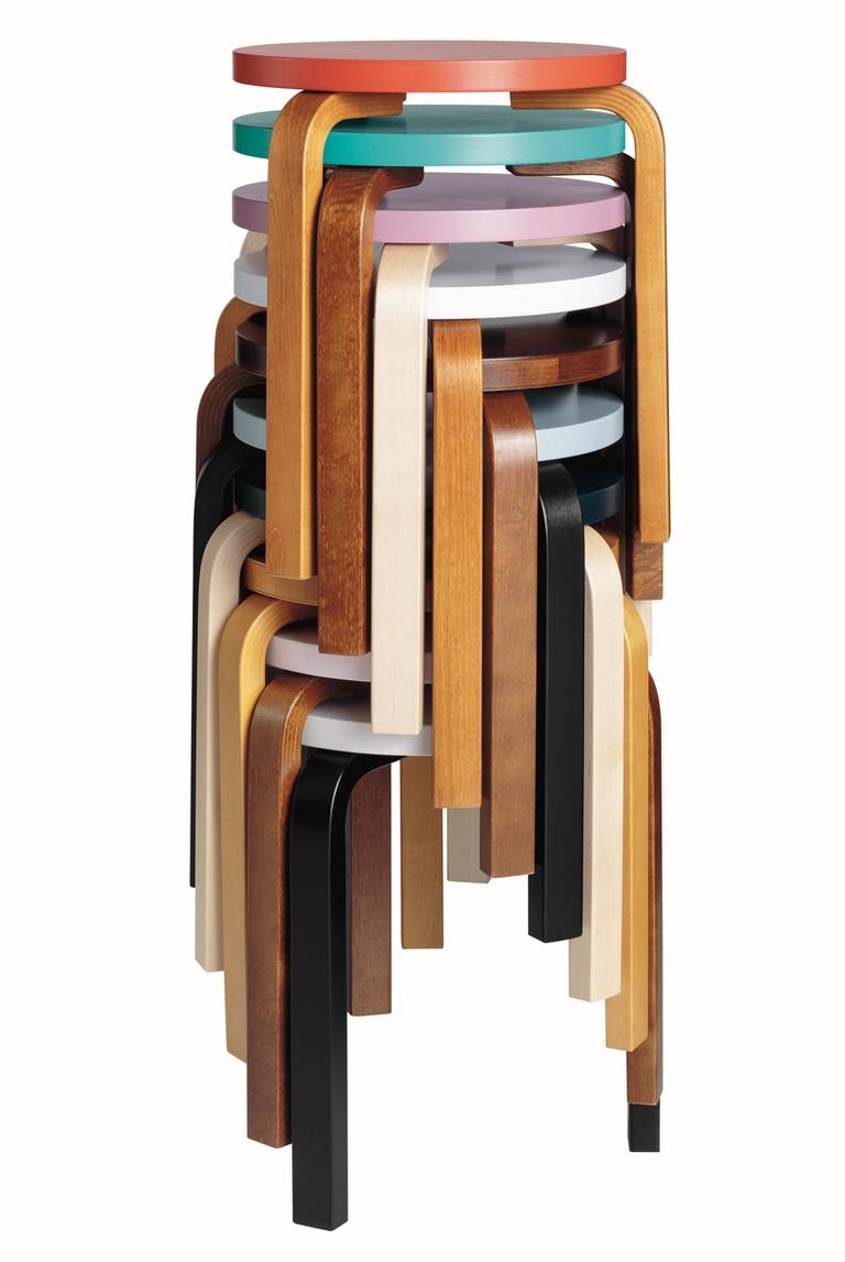 A Brief History of Alvar Aalto's Stool 60 on