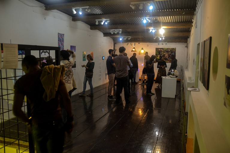 The gallery space |© Courtesy Bat Centre