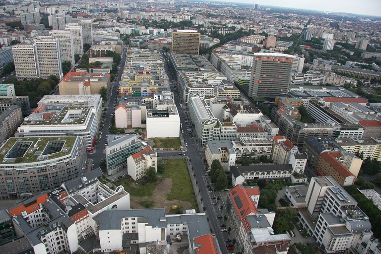 A birds eye view of Mitte, the more upmarket and touristic part of town | © argentum / Pixabay
