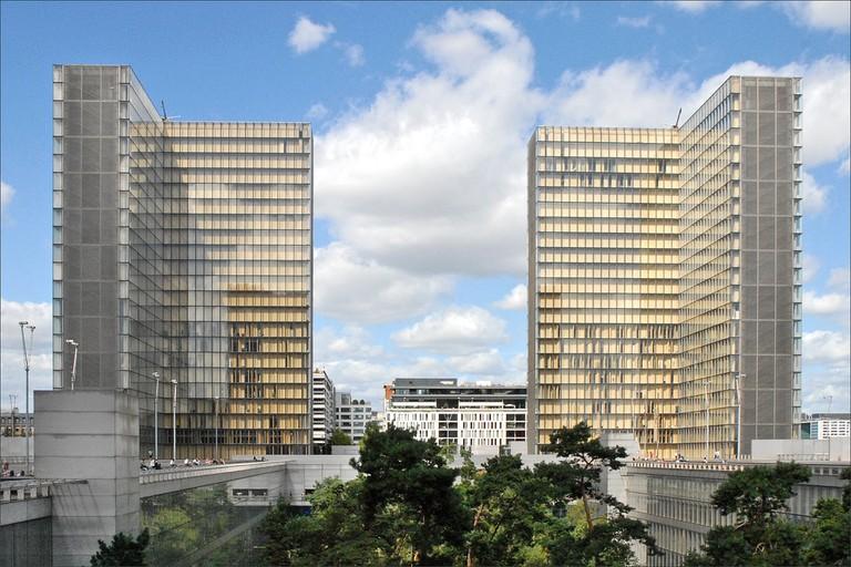 Bibliothèque nationale de France │© Jean-Pierre Dalbéra / Flickr