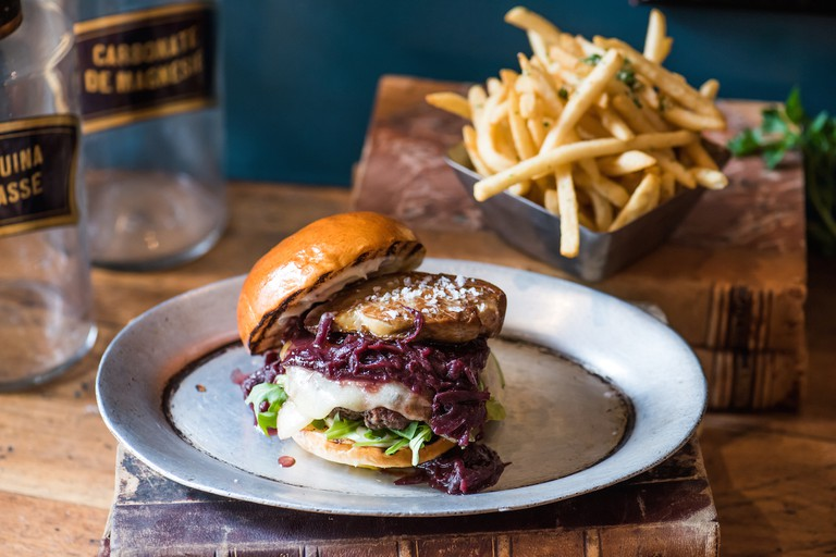 Burger|Courtesy of Patina Restaurant Group