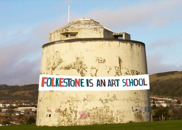 Bob and Roberta Smith, Folkestone is an Art School, 2017