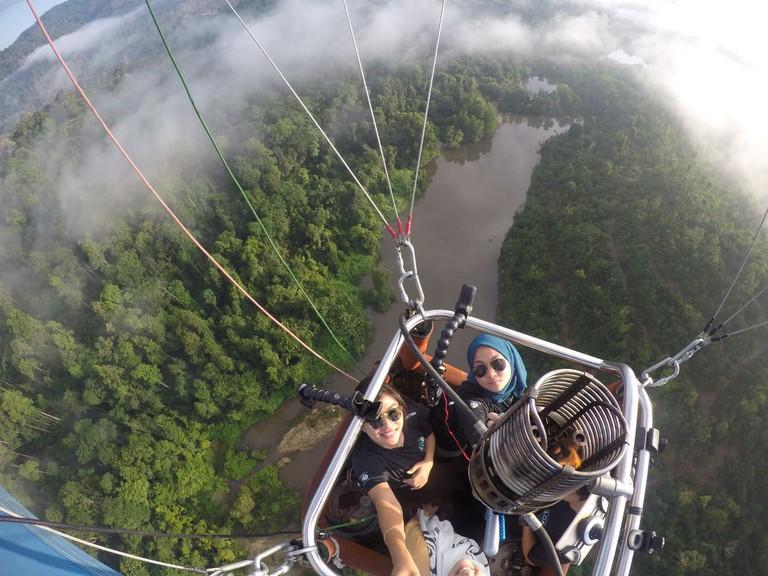 Breathtaking view of Kuantan from above | Courtesy of AKA Balloon