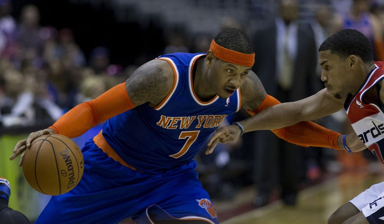 Carmelo Anthony (left) | © Keith Allison/ Flickr