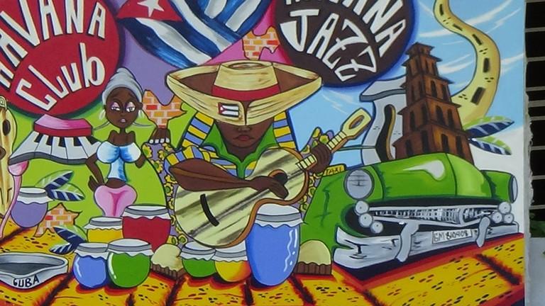 An example of Caribbean Art|© real negotiators/ pixabay