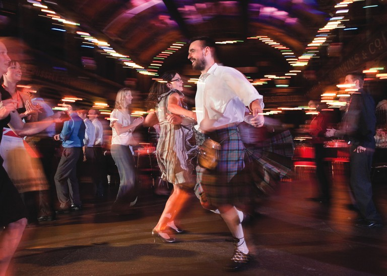Ceilidh Dancing | Courtesy Of Glasgow Life
