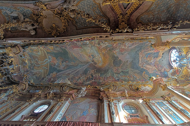 Asam Church's Ceiling Fresco © Steve Collis / Flickr