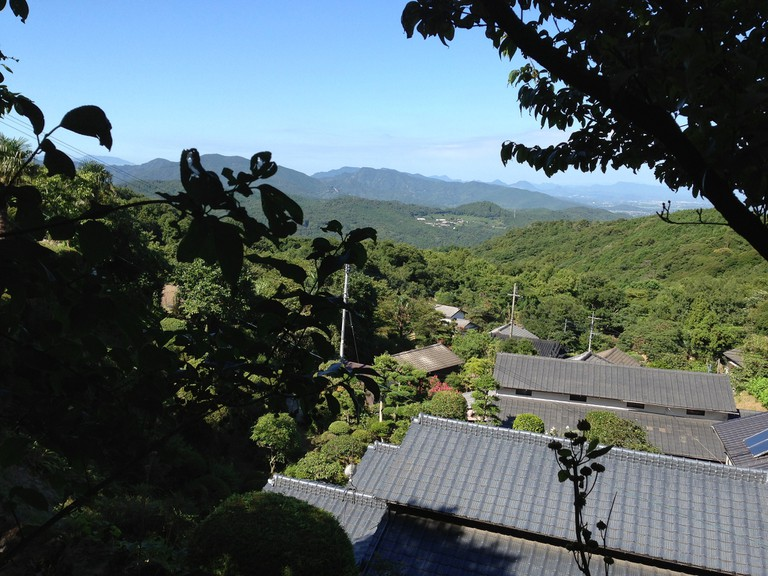 View from Choanji Temple in Bungo-Takada-shi