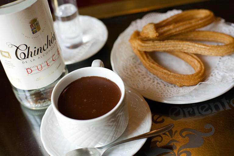 Chocolate and churros   © Madrid Destino Cultura Turismo y Negocio