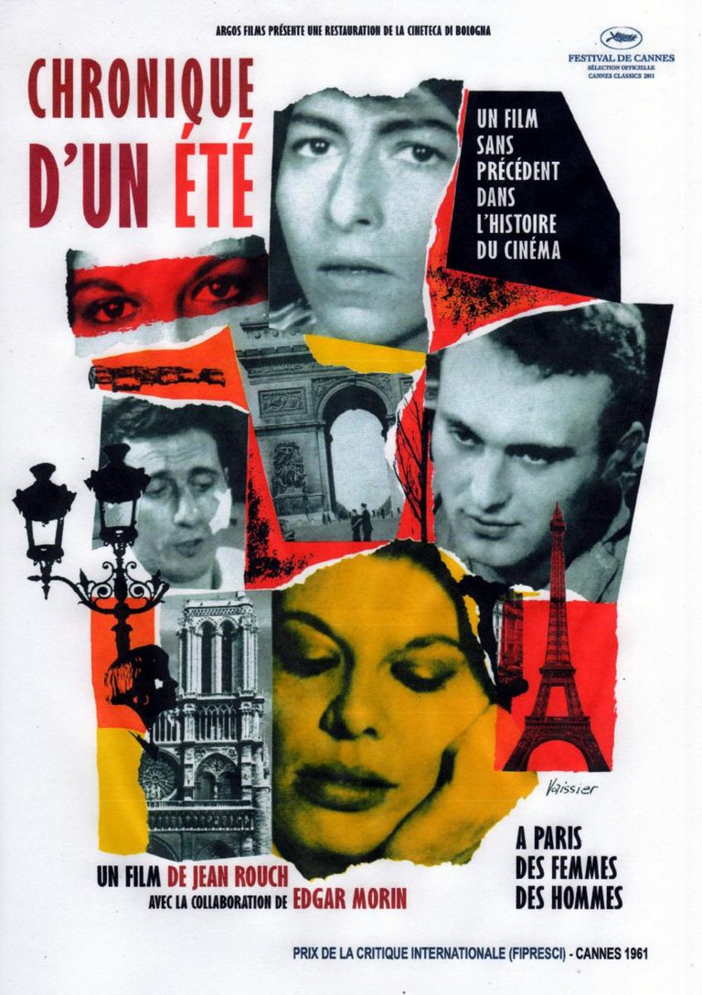 Chronique d'un été (1961) │ Courtesy of Argos Films