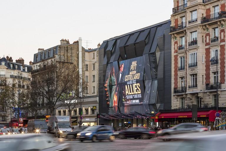 Cinéma Gaumont Alésia │ Courtesy of Manuelle Gautrand Architecture