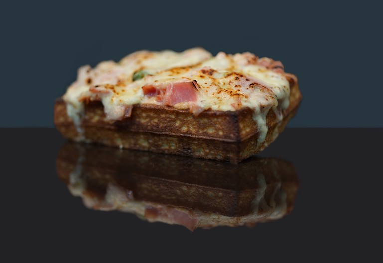 Croque Monsieur waffle │© Judith Vibert Guigue, Courtesy of Yummy & Guiltfree