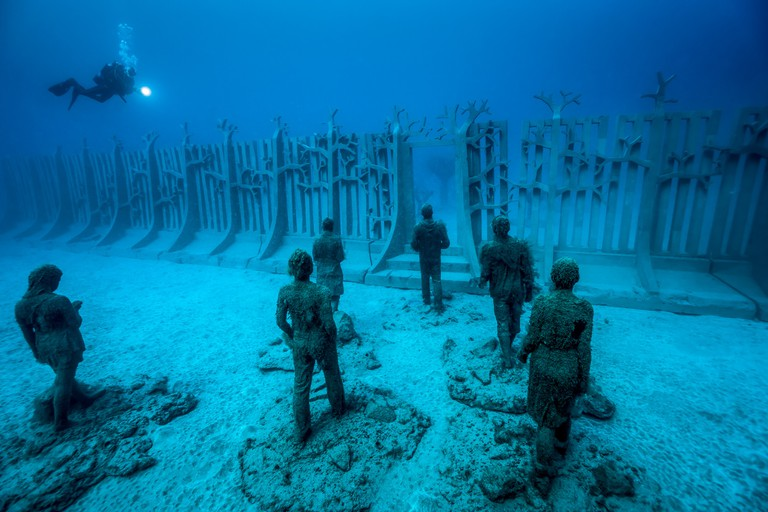 Crossing the Rubicon, Jason deCaires Taylor