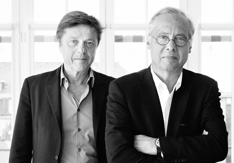 Denis Valode and Jean Pistre │ Courtesy of Valode & Pistre Architectes