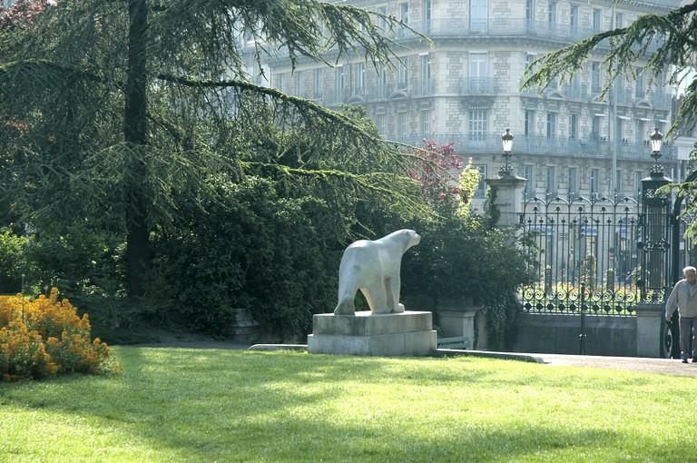 L'ours Blanc Pompon ©OT Dijon/Atelier Demoulin