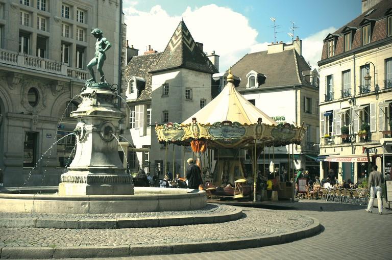 Place du Bareuzai ©Atelier Demoulin/OT DIjon