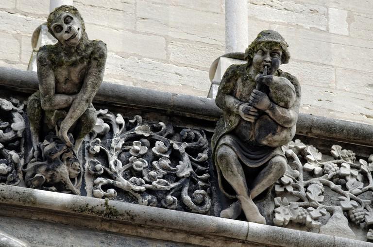 Notre Dame church, Dijon ©François de Dijon/Wikicommons