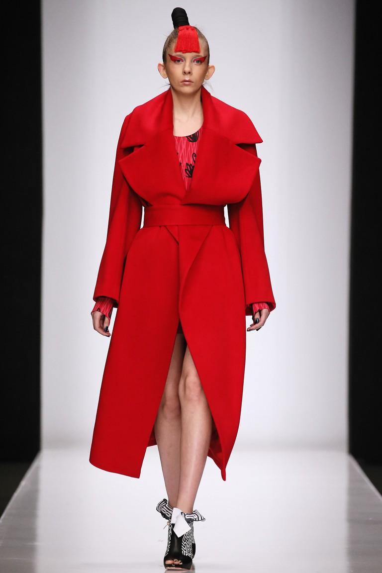 34th Season of Mercedes-Benz Fashion Week Russia Day 1