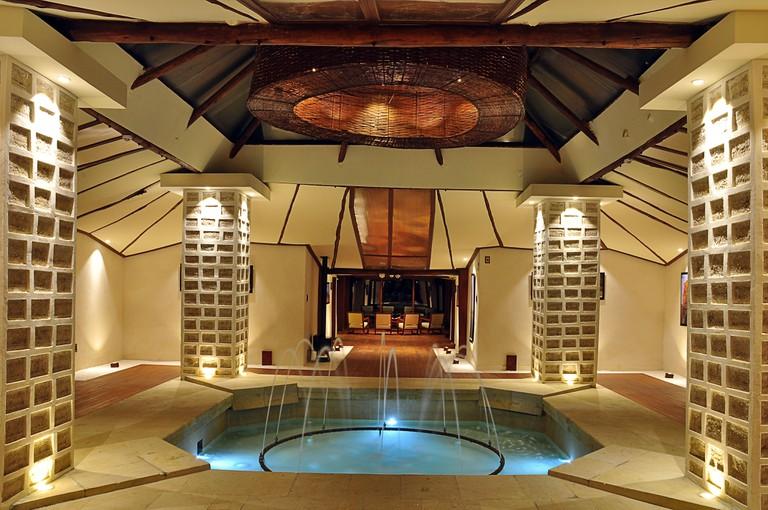 Hotel lobby © Palacio de Sal