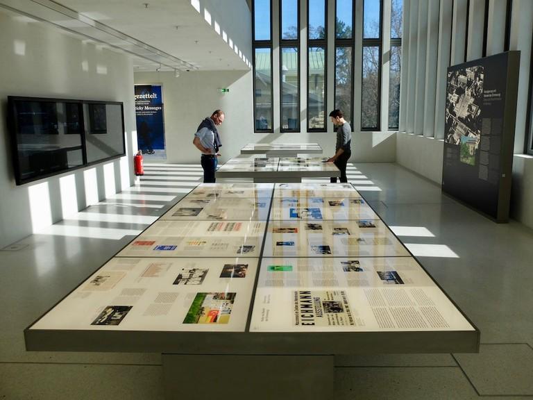 The special exhibition floor © Roanna Mottershead
