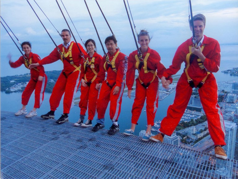 Edgewalk at the CN Tower| © Kevin Costain/ Flickr