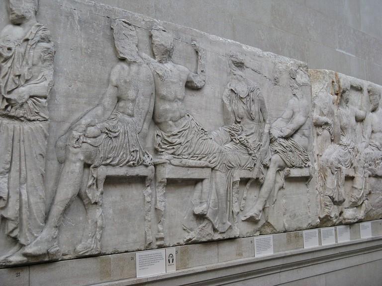 Elgin Marbles   ©Yair Haklai / Wikimedia Commons