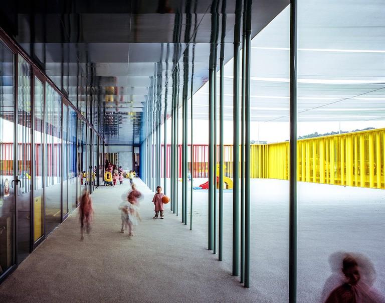 El Petit Comte Kindergarten, 2010, Besalú, Girona, Spain In collaboration with J. Puigcorbé Photo by Hisao Suzuki Courtesy of Pritzker Architecture Prize