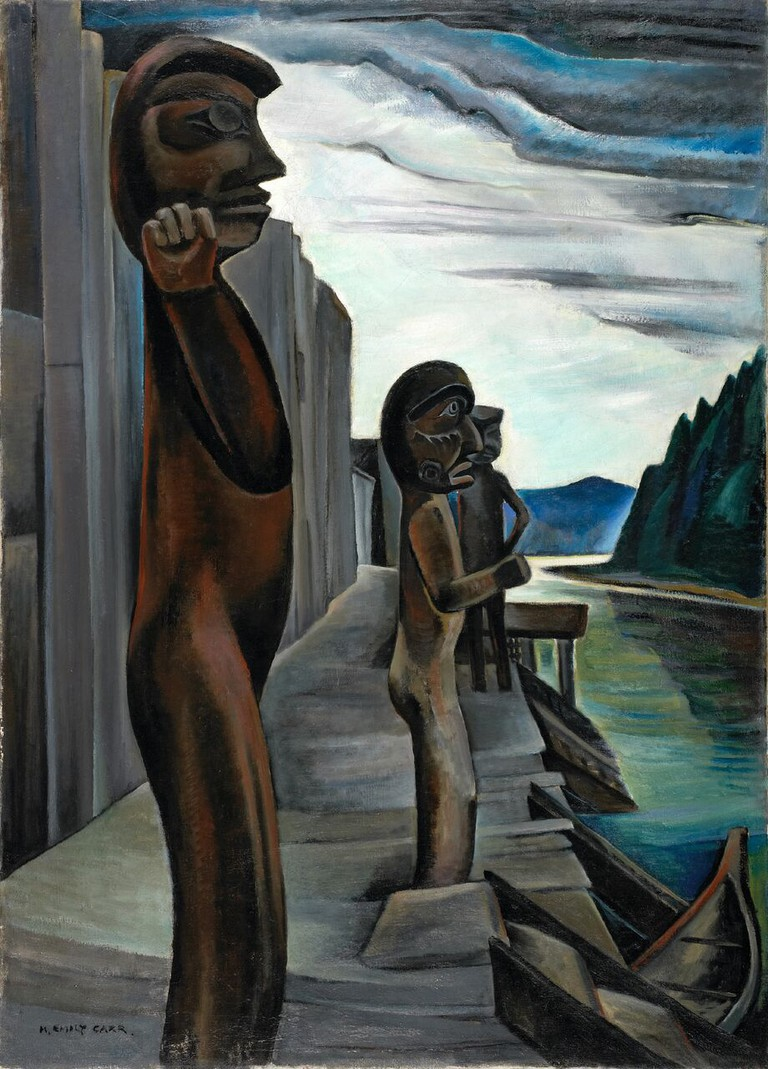 Emily Carr, Blunden Harbour, c. 1930   Courtesy of the National Gallery of Canada, Ottawa