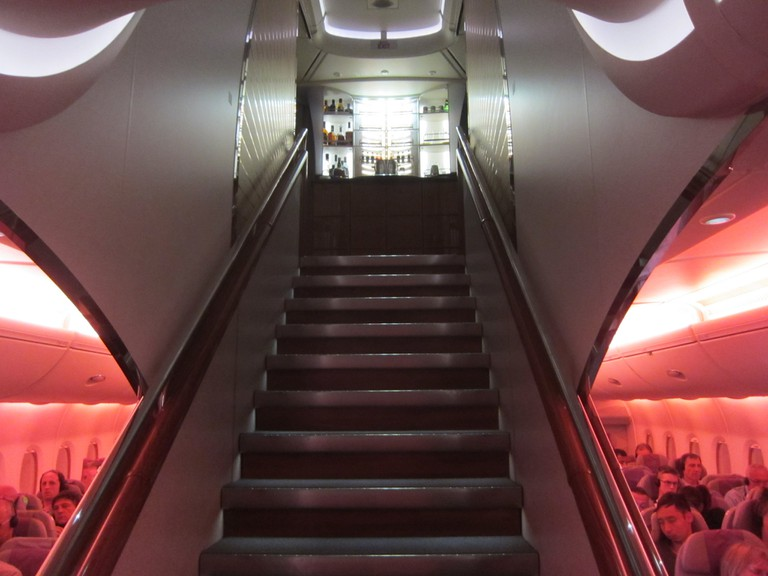 Stairway to heaven on the A380 | © Terrazzo / Flickr