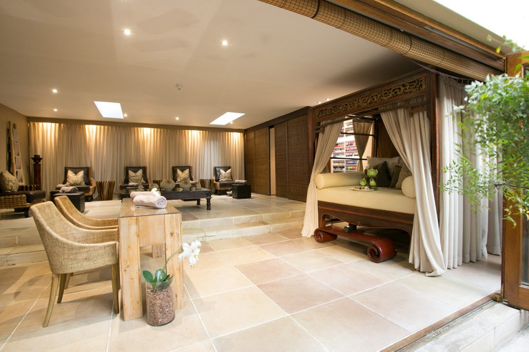 The manicure and pedicure lounge at Fairlawns is the ultimate treat | Courtesy of Fairlawns Boutique Hotel & Spa
