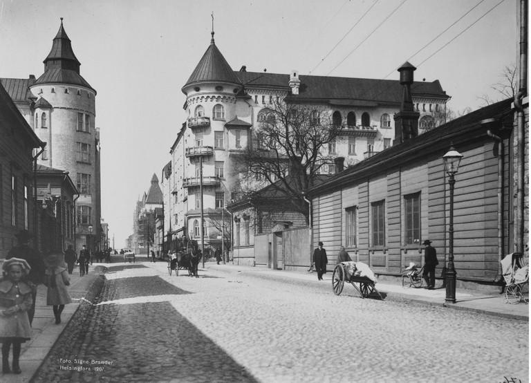 One of Brander's images of Helsinki in 1907 | © Signe Brander / Goodfreephotos.com