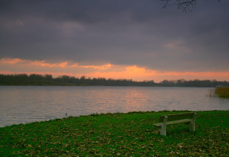 Gaasperplas at sunset | © Arthena / WikiCommons