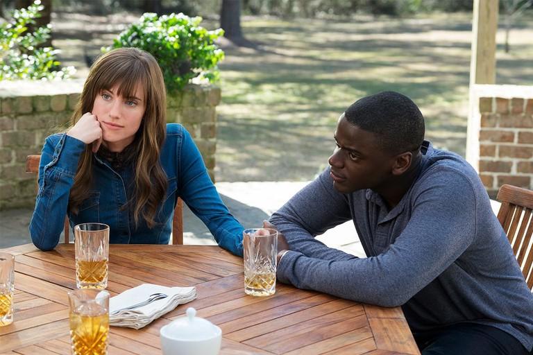 Allison Williams as Rose Armitage and Daniel Kalyuua as Chris Washington © Universal